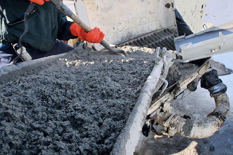 Изготовление бетонных изделий - как смешивать хороший бетон